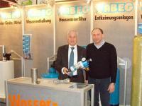 Erwin Huber besuchte den WABEG Messestand